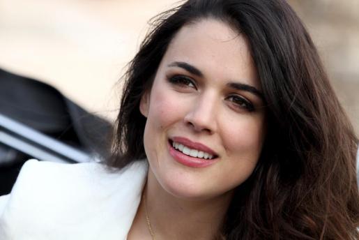 La actriz, Adriana Ugarte.