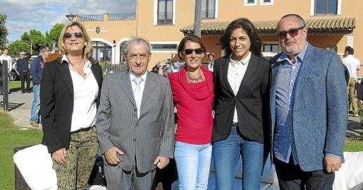 Ana Pons, Juan José Hidalgo, Dora Simonet, Laila de la Torre y Jesús Boyero.