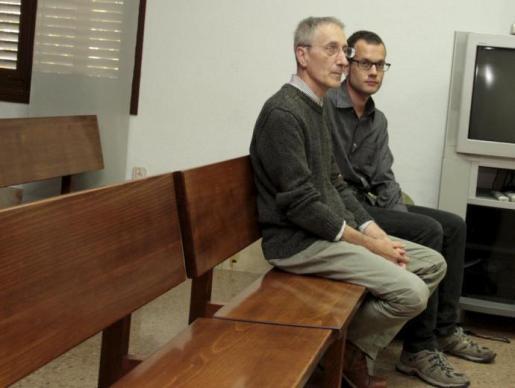 Marcel Pich y Robert Abela durante su juicio.