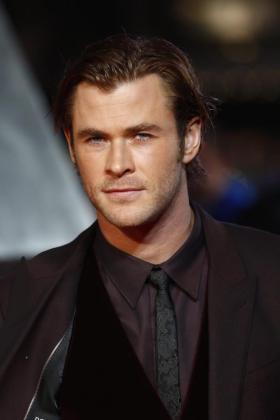 El actor australiano y miembro de reparto Chris Hemsworth.
