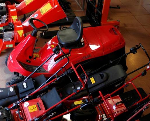 La empresa comercializa todo tipo de maquinaria agrícola.