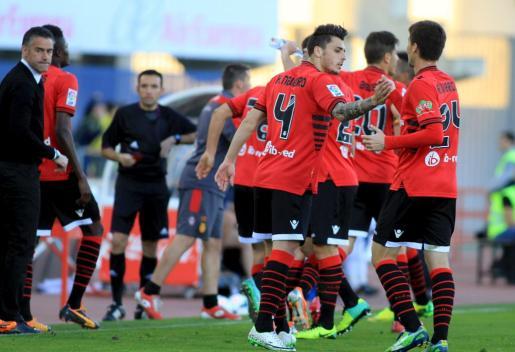 Imagen del partido jugado ante el Tenerife la pasada temporada en Son Moix.