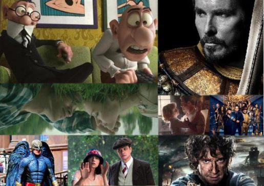 Algunas imágenes de las películas que se estrenarán estas navidades.