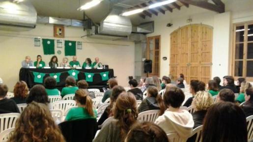 Imagen del primer encuentro de la Asamblea de docentes 0-3.