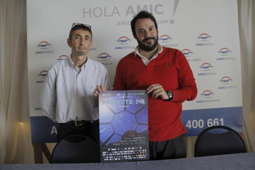 Joan Cortés y Alberto Moral, dos de los organizadores del evento Proyecto 145.