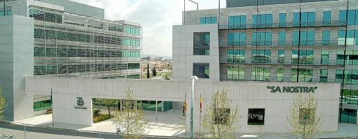 La sede de Sa Nostra, en Son Fuster, acogerá la asamblea del próximo 2 de diciembre.