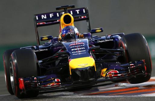 El Red Bull de Sebastian Vettel.