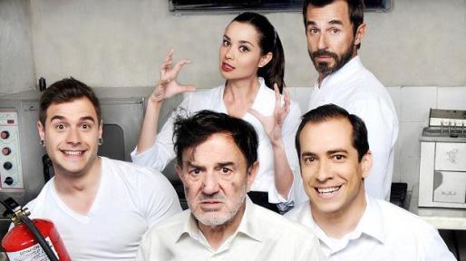 Imagen promocional de los actores del Chiringuito de Pepe.
