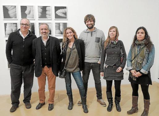 Joan Sastre, Andreu Ramis, Mar Agüera, Jaume Serra, Gemma Titley y Francina Martí.