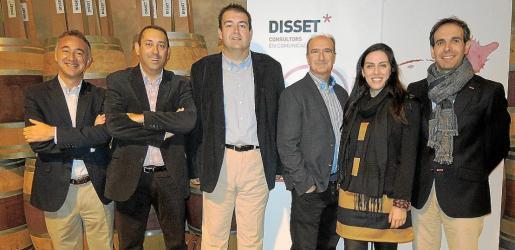 Alberto Asensio, Xavier Muntaner, Toni Pons, Francisco Echeverría, Ana Maria Aldir y Antonio Barrero.
