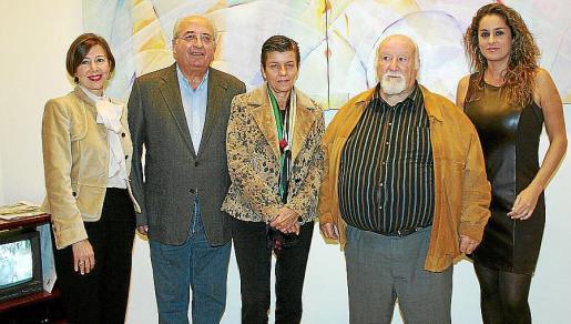 María José Frau, Gabriel Vanrell, Carme Serra, Manolo Coronado y Rosa Vanrell.