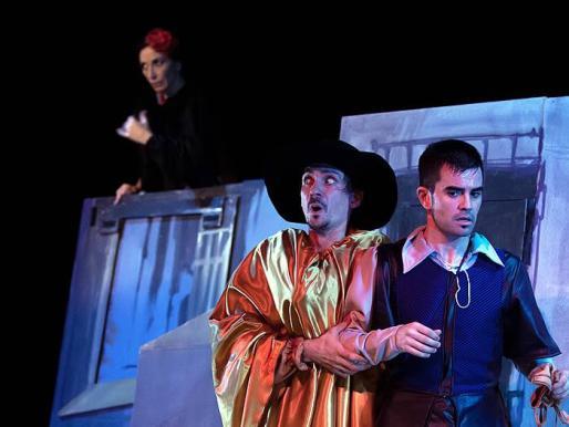 Un momento de la obra 'La discreta enamorada', de Factoría Teatro.
