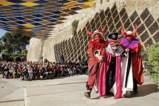 Una escena de la última función de 'L'Adoració del Tres Reis'.