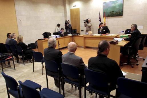 Una imagen captada durante una de las tres sesiones que se han desarrollado en el juzgado.