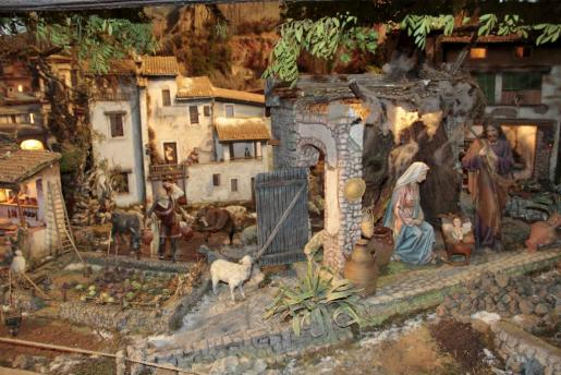 Uno de los planes clásicos para Navidad es visitar los diferentes belenes que habrá en Palma.
