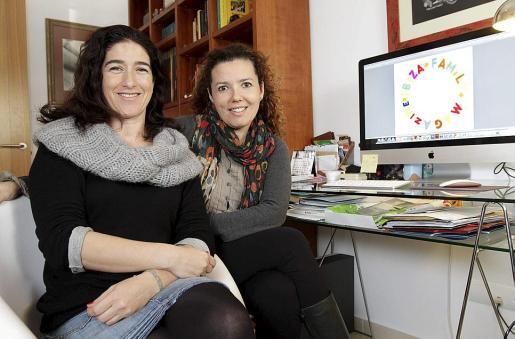 Carla Centelles y Tita Tur empezaron su proyecto web hace tres años.