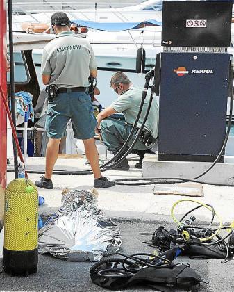 La víctima falleció en el mes de agosto de 2010 en El Toro, durante una excursión de buceo.