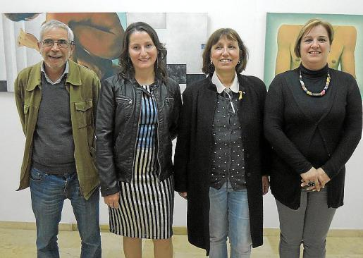 Josep Vidal, Anna Vallespir, Magdalena Solivellas y Francisca Bisquerra.