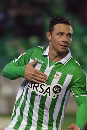 El centrocampista del Real Betis, Rubén Castro, en una imagen de archivo.