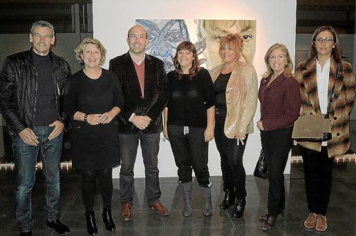 Toni Serra, Isabel Llinás, Enric Capellà, Apol.lònia Socias, Cati Seguí, Teresa Martorell y Jerònia Bonafé.