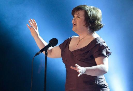 La cantante Susan Boyle.