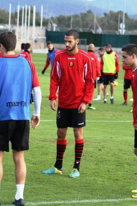 El centrocampista del Mallorca Álex Vallejo .