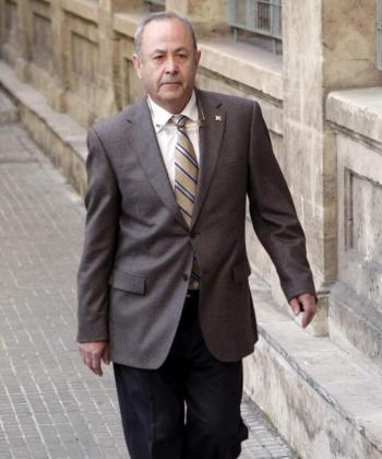 El juez Castro llega a los jugados de Palma en una imagen de archivo.
