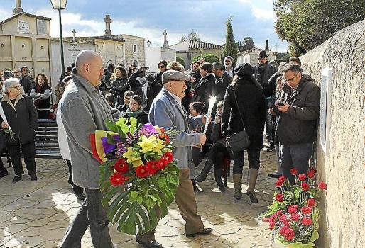 Imagen del homenaje celebrado en Alaró.
