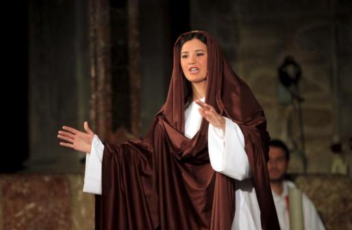 La Virgen María, protagonista de esta historia.