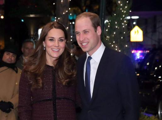Guillermo de Inglaterra y Catalina Middleton, a su llegada al Hotel Carlyle.