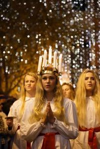 Fiesta de Santa Lucía.