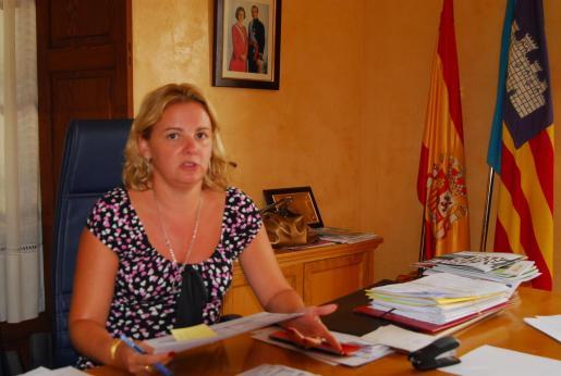Isabel Alemany, alcaldesa de Andratx.