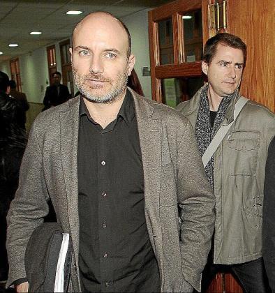 Antoni Verger, el día que no llegó a declarar en los juzgados por el 'caso trenes'.