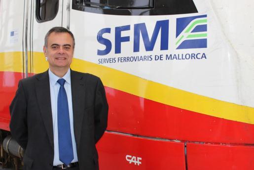 El gerente de Serveis Ferroviaris de Mallorca, José Ramón Orta.