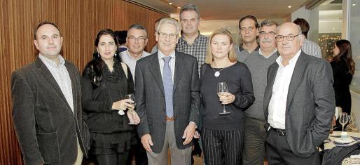 Antoni Clar, Maria José Pérez-Herrero, Bernat Cabot, Bernat Balaguer, Xavier Tomás, Olga Jikhareva, Juanjo Torres, Joan Bernal y Xisco Salvá.