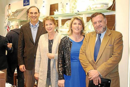 Jaime Casasnovas, Iris Schull, Miriam Sala y Jaime Sucrana.