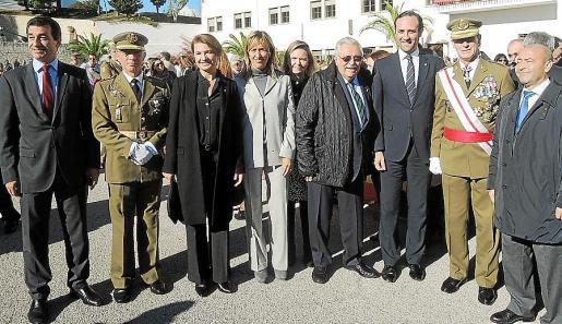 Gabriel Company, Joaquín Moreno, Margalida Durán, Teresa Palmer, María Salom, Pere A.Serra, José Ramón Bauzá, Fernando Aznar y Antoni Gómez.