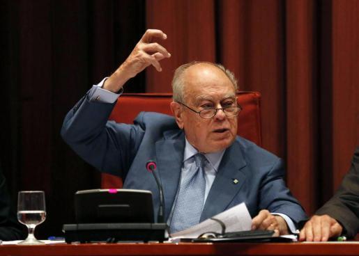Jordi Pujol durante una comparecencia reciente en el Parlament.