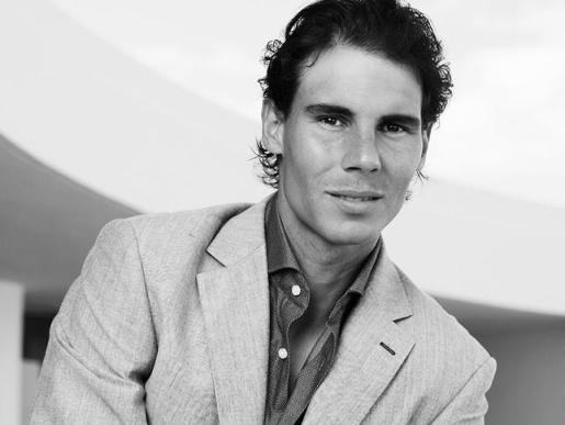 Rafael Nadal, todo un modelo.