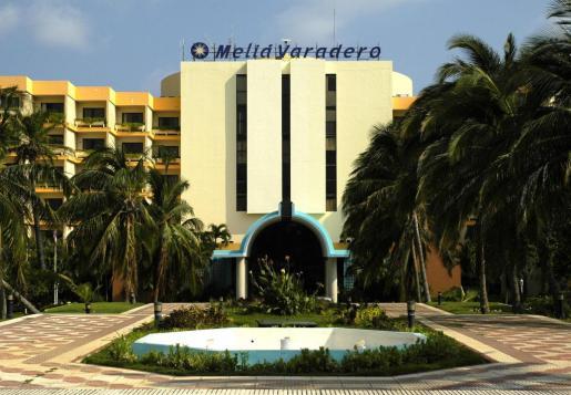 Vista de la fachada de hotel Meliá Varadero, que fue inaugurado en 1991.