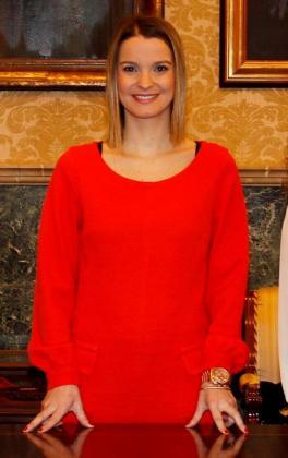 Marga Prohens, diputada del Partido Popular.