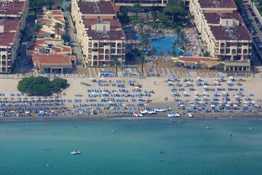 Vista aérea de Playa de Muro.