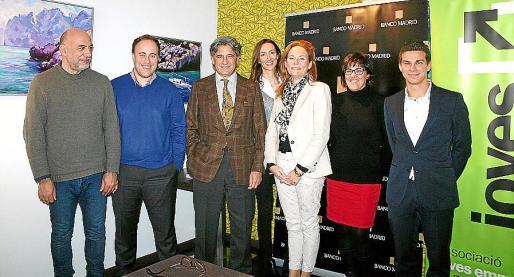 Tino Martínez, Antoni Andújar, Joan Buades, Xisca Oliver, Isabel del Pino, Ester Mantolán y José María Gilgado.