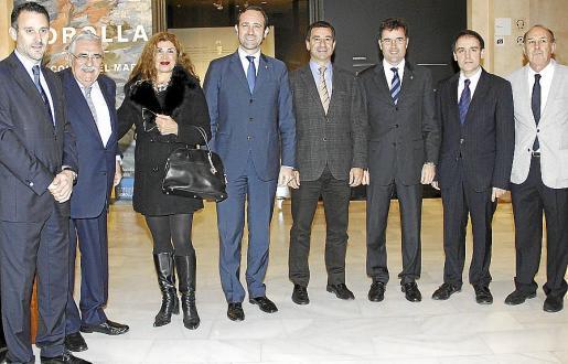 Toni Martorell, Pere A. Serra, Sedi Behvarrad, José Ramón Bauzá, Gabriel Company, Jaime Juan, Bartomeu Deyà y Óscar Pipkin.