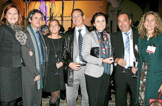 Marilena Jover, Pedro Rullán, América Matas, Ignacio Fernández-Alegría, Paula Serra, Norberto Cerón y Carmen Sampol.