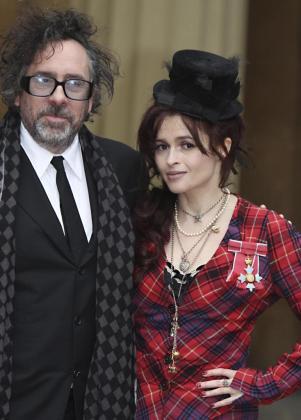 Tim Burton y Helena Bonham Carter, en una imagen de archivo.