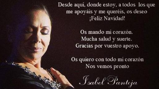Kiko Rivera publicó en Instagram esta felicitación e su madre.