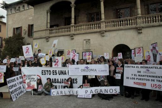 Un cierre que afectó a 5.000 trabajadores. El cierre de Orizonia,en febrero de 2013, afectó en total a unos 5.000 trabajadores en toda España, de los cuales cerca de la mitad se encontraban radicados en Palma. Los sindicatos nunca entendieron los motivos del cierre.