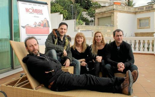 Antonio Molero, César Camino, Amparo Larrañaga, Kira Miró y Jorge Bosch, protagonistas de 'El nombre'