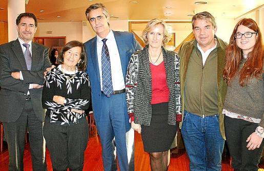 Xavi Bonet, Adelina Soyer, Michel Magnier, Mylene Baviera, Pascal García y Beatriz Pérez-Dauden.